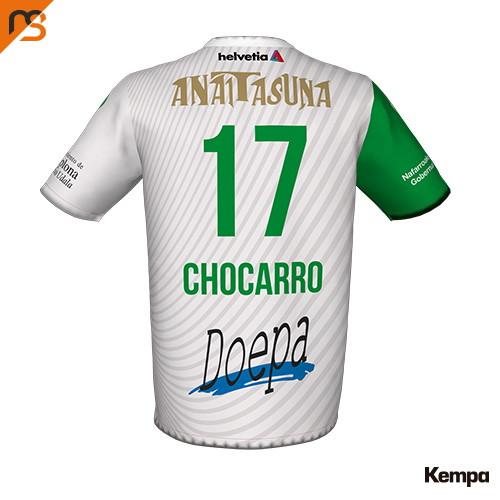 Camiseta oficial Primera, temporada Anterior 2018-2019, Asobal, ANAITASUNA