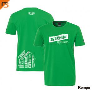 TEAM CAMISETA verde ANAITASUNA